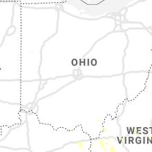 Regional Hail Map for Columbus, OH - Saturday, June 6, 2020