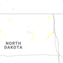 Regional Hail Map for Devils Lake, ND - Saturday, June 6, 2020