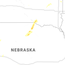 Regional Hail Map for Oneill, NE - Saturday, June 6, 2020