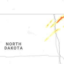 Regional Hail Map for Devils Lake, ND - Monday, June 8, 2020