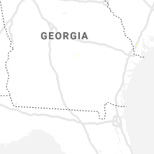 Regional Hail Map for Douglas, GA - Tuesday, June 9, 2020
