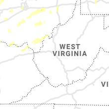 Regional Hail Map for Charleston, WV - Wednesday, June 10, 2020