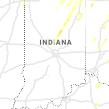 Regional Hail Map for Indianapolis, IN - Wednesday, June 10, 2020