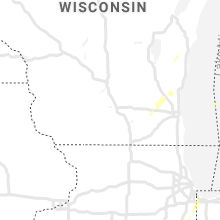 Regional Hail Map for Madison, WI - Wednesday, June 10, 2020