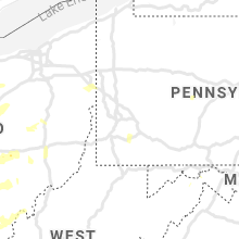 Regional Hail Map for Pittsburgh, PA - Wednesday, June 10, 2020