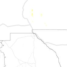 Regional Hail Map for El Paso, TX - Thursday, June 11, 2020