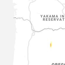 Regional Hail Map for Portland, OR - Thursday, June 11, 2020