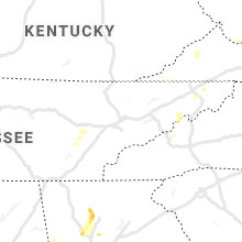 Regional Hail Map for Knoxville, TN - Sunday, June 14, 2020