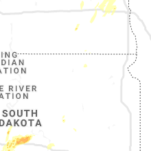Regional Hail Map for Aberdeen, SD - Wednesday, June 17, 2020
