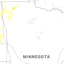 Regional Hail Map for Bemidji, MN - Wednesday, June 17, 2020