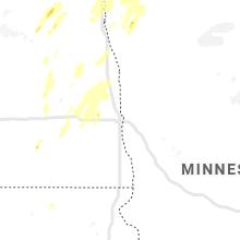 Hail Map for fargo-nd 2020-06-17