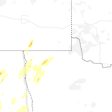 Regional Hail Map for Roseau, MN - Wednesday, June 17, 2020