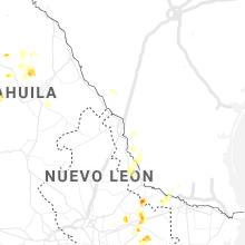 Regional Hail Map for Laredo, TX - Thursday, June 18, 2020