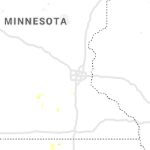 Regional Hail Map for Minneapolis, MN - Thursday, June 18, 2020