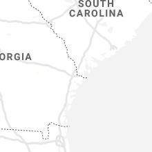 Regional Hail Map for Savannah, GA - Thursday, June 18, 2020