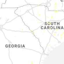 Regional Hail Map for Augusta, GA - Friday, June 19, 2020