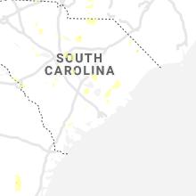 Regional Hail Map for Charleston, SC - Friday, June 19, 2020