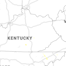 Regional Hail Map for Irvine, KY - Friday, June 19, 2020