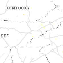 Regional Hail Map for Knoxville, TN - Friday, June 19, 2020