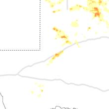 Regional Hail Map for Odessa, TX - Friday, June 19, 2020