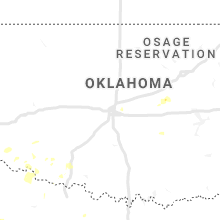 Regional Hail Map for Oklahoma City, OK - Friday, June 19, 2020