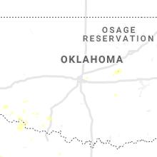 Hail Map for oklahoma-city-ok 2020-06-19