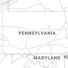 Regional Hail Map for State College, PA - Friday, June 19, 2020