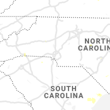 Regional Hail Map for Charlotte, NC - Saturday, June 20, 2020