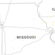 Regional Hail Map for Columbia, MO - Saturday, June 20, 2020