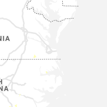 Regional Hail Map for Virginia Beach, VA - Saturday, June 20, 2020