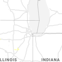 Regional Hail Map for Chicago, IL - Sunday, June 21, 2020