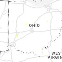 Regional Hail Map for Columbus, OH - Sunday, June 21, 2020