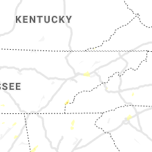 Regional Hail Map for Knoxville, TN - Sunday, June 21, 2020