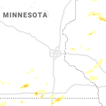 Regional Hail Map for Minneapolis, MN - Sunday, June 21, 2020