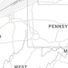 Regional Hail Map for Pittsburgh, PA - Sunday, June 21, 2020