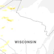Hail Map for rhinelander-wi 2020-06-21