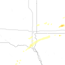 Regional Hail Map for Sioux Falls, SD - Sunday, June 21, 2020