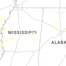 Hail Map for starkville-ms 2020-06-21