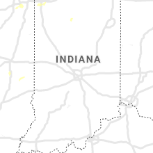 Regional Hail Map for Indianapolis, IN - Monday, June 22, 2020