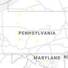 Regional Hail Map for State College, PA - Monday, June 22, 2020