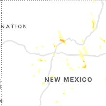 Regional Hail Map for Albuquerque, NM - Tuesday, June 23, 2020