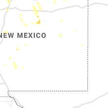 Regional Hail Map for Roswell, NM - Tuesday, June 23, 2020