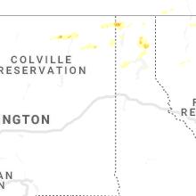 Hail Map for spokane-wa 2020-06-24