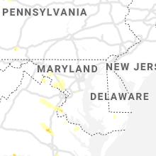 Regional Hail Map for Baltimore, MD - Thursday, June 25, 2020