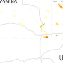 Hail Map for laramie-wy 2020-06-25