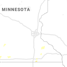 Regional Hail Map for Minneapolis, MN - Thursday, June 25, 2020