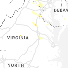 Regional Hail Map for Richmond, VA - Thursday, June 25, 2020