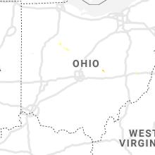 Regional Hail Map for Columbus, OH - Friday, June 26, 2020