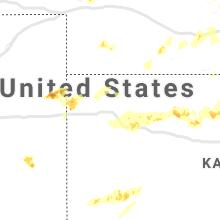 Regional Hail Map for Colby, KS - Saturday, June 27, 2020