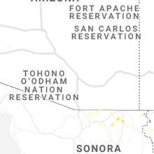 Regional Hail Map for Tucson, AZ - Saturday, June 27, 2020